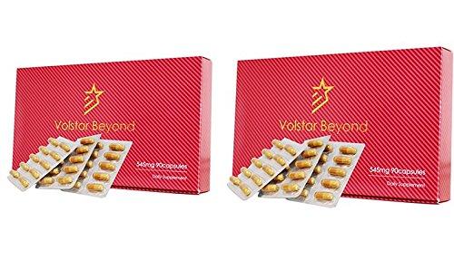 公式/自信増大サプリメントVolstarBeyond(ヴォルスタービヨンド)2箱L−シトルリン/L-
