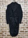 燕尾服 Lサイズ ブラック 黒 古着卸 アメリカ仕入 t2010-3057