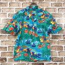 ショッピングアロハシャツ Blue Generation アロハシャツ Sサイズ ハワイアンシャツ 柄 半袖シャツ 古着卸 アメリカ仕入 t205-4136