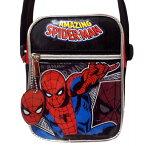 マーベル スパイダーマン ショルダーバッグ (AMAZING) 子供用〜大人用 SpiderMan MARVEL アメコミ ヒーロー グッズ かばん かっこいい USJ ポシェット 斜め掛け バッグ プレゼント ギフト 男の子 女の子
