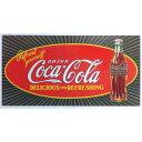 コカコーラ ブリキ看板 メタルプレート コカ・コーラ アメリカン雑貨 世田谷ベース コカコーラ グッズ