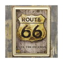 RoomClip商品情報 - ヴィンテージ風 看板 メタルプレート ルート66 Route66 FREEDOM アメリカン雑貨 ルート66 グッズ