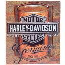 ハーレー ダビッドソン ブリキ看板 メタル プレート Harley Davidson Can Label バイク アメリカン アメリカ 雑貨 ハーレー グッズ 世田谷ベース
