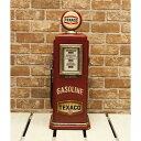 TEXACO テキサコ ガスポンプ型 2段 キャビネット アメリカン雑貨 世田谷ベース グッズ アメリカ 雑貨 収納 棚 インテリア