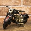 ブリキ製 オールド バイク ミニサイズ ブラックxレッド ハーレー アメリカン雑貨 世田谷ベース インテリア アメリカ 雑貨