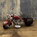 ブリキ製 オールド バイク ミニサイズ レッド ハーレー アメリカン雑貨 世田谷ベース インテリア アメリカ 雑貨