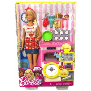 Barbie バービー オーブン プレイセット 人形 フィギ