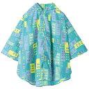 w.p.c (ワールドパーティ) 子供用 レイン キッズ ポンチョ 全15柄 2サイズ ビル M (110〜130cm) 防水 収納袋付き