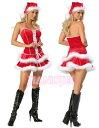 クリスマスパーティーイベント忘年会新年会スーパーロー価格クリスマスサンタサンタコスコスプレコスチュームセクシーコスハロウィン衣装★段々ファー使いミニ丈セクシークリスマスサンタレディーコスチューム★フリーダムMサイズセールsale