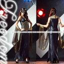 コスプレ セクシー 制服 衣装 パーティー イベント ハロウィン クレオパトラ 女王 女神 エジプト セクシー コスプレ コスチューム 衣装 仮装★ 優雅な古代エジプトの女王♪ロングワンピタイプのクレオパトラ女王コスチューム ★ フリーダム セール sale