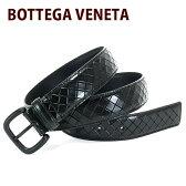 送料無料/新品 ボッテガヴェネタ BOTTEGA VENETA ベルト メンズ レザーベルト ブラック 261362 Vq241 1000