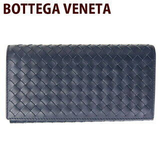 Since the 10/15 sequential shipment Bottega Veneta (Bottega Veneta) fold BOTTEGA VENETA wallets wallets mens two dark Navy 156,819 V4651 4013