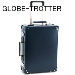 <strong>グローブトロッター</strong> GLOBE-TROTTER キャリーケース スーツケース バッグ 鞄 かばん 旅行かばん 旅行鞄 18 CENTENARY センテナリー トローリーケース ネイビー GTCNTNN18TC NAVY NAVY 正規品 セール ブランド 新品 新作 2020年 初売り プレゼント