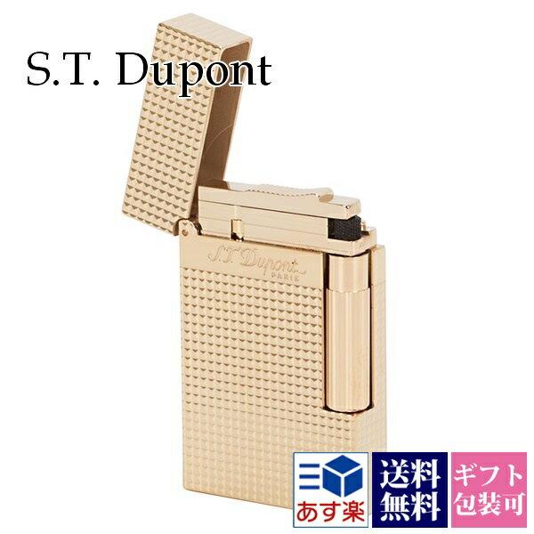 エステー デュポン S.T.Dupont ライター メンズ 喫煙具 LIGNE2 ライン2 ダイアモンドヘッドカット パラディウムフィニッシュ ゴールド 16284 正規品 セール あす楽ブランド 新品 新作 2018年