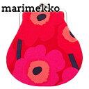 マリメッコ marimekko ポーチ レディース がま口 小銭入れ コインケース レッド 020310-301