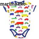 マリメッコ marimekko ロンパース 赤ちゃん ベビー 半袖 半袖ロンパース 車 ブーブー BODY VAUDE BO BOO SHORT SLEEVES 045645-013 80サイズ(約1歳頃〜) 正規品 セール 新生活 入学祝い 2018 送料無料 母の日