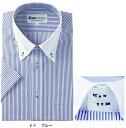 ビジネスウェア ワイシャツ 半袖クレリック 15054(S〜4L) ジーベック(XEBEC) お取寄せ
