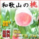 送料無料 こだわりの美味しい桃 和歌山田中農園の桃 秀品2k...