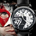 シミエール【CIMIER】メンズ スイス ブランド【アナログ表示】セブンシグネーチャーエディション