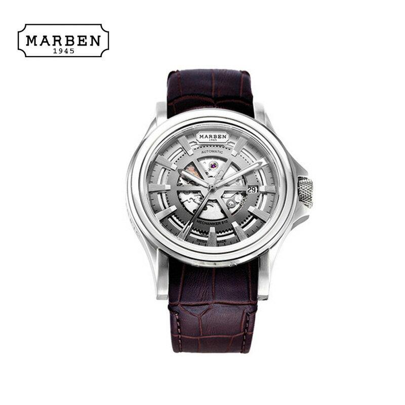 MARBEN【マーベン】腕時計 メンズ ブランド【アナログ表示】【送料無料】ME810-46.LD 正規品 腕時計 メンズ ブランド 人気 ファッション アナログ 【送料無料】 メンズ通販スイスメイドの本格的な作りが特徴で、今季注目のブランドとなっています!
