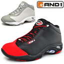 メンズ バスケットボール シューズ AND1 アンドワン スニーカー タイチ TAICH MID バスケシューズ 紳士 男性 靴 バッシュ/D1055M