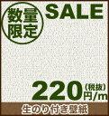 在庫一掃激安セール!大量入荷!!【生のり付スリット壁紙】 SALE138__sale-ryu-igb