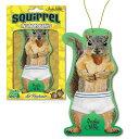 メール便送料無料!【Squirrel in underpants Deluxe Air Freshener】アンダーパンツをはいたリスのプリント エアフレッシュナー/かわいい/キュート/動物/栗鼠/芳香剤/AirFreshener/カーフレッシュナー/【ポイント】05P03Dec16