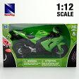 【カワサキ】【NewRay 1/12 Kawasaki ZX-10R 2006】バイク/ニューレイ/スケールモデル/ダイキャスト/SportsBike/オンロード/模型/1:12/緑/グリーン/Green/05P09Jan16