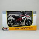 【ドゥカティ】【1/12 Ducati Hypermotard SP 2013】ハイパーモタード/バイク/Maisto/マイスト/スケールモデル/ダイキャスト/SportsBike/スポーツバイク/オンロード/模型/1:12/白/【ポイント】05P03Dec16