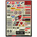 【One Industries 4 mil. logo Helmet Sheet 2012SHEET】ワンインダストリーズ/デカールシート/ステッカー/Motocross/FMX/フリースタイルモトクロス/OGIO/sixsixone/ALPINESTAR/ATOM/FMF/hinson/SHOWA/VANS/PROCRCUIT【正規品】/【ポイント2倍】Jul16