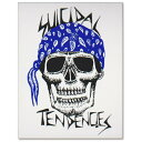 SUICIDAL TENDENCIES Blue Bandana Sticker(スーサイダルテンデンシーズ)ブルーバンダナ ステッカー/スカル/ロゴ/スカル/ベニススタイル/マイク・ミューア/Mike Muir/ 【ポイント】05P03Dec16