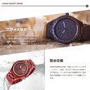 メンズ Wood Watch...