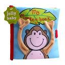 3D布絵本 幼児教育玩具 赤ちゃんの好きな音が出る絵本 洗える 衛生的 お猿 モンキー 触って 見て...