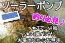 エコ ソーラー充電式 エアーポンプ 太陽光発電 池、水槽用 スマホ 充電 LED 釣り フィッシング◇H509 10P03Dec16