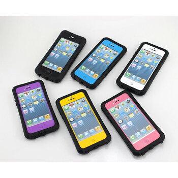iPhone5/5c/5s���ɿ奱���������������ץ롼�������Ѿ��ɿ��ɿХ�����WATERPROOF��������������ס������ȥɥ��������