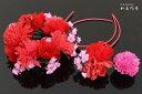 髪飾り 花 3点セット 成人式 振袖 卒業式 袴 結婚式 ウ...