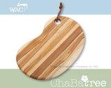 耐久性,采用ChaBatree 护绳板豆形状与抗水性出色的柚木木材[ChaBatree サービングボード ビーンシェイプラッピング不可商品]
