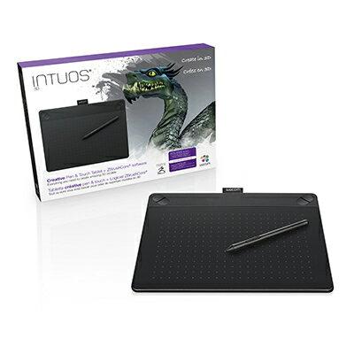 Intuos 3D medium ブラック (CTH-690/K2) ワコム ペンタブレット 送料無料