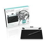 【アウトレット】 Intuos Draw small ホワイト (CTL-490/W0) ワコム ペンタブレット 送料無料