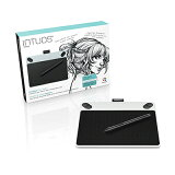 Intuos Draw small ホワイト (CTL-490/W0) ワコム ペンタブレット 送料無料
