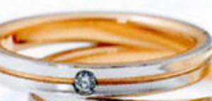 ★NINA RICCI【ニナリッチ】(22)6RM907マリッジリング・結婚指輪・ペアリング用(1本) ★お買い得価格の 卸直営店 ケース、送料無料, 消費税込★
