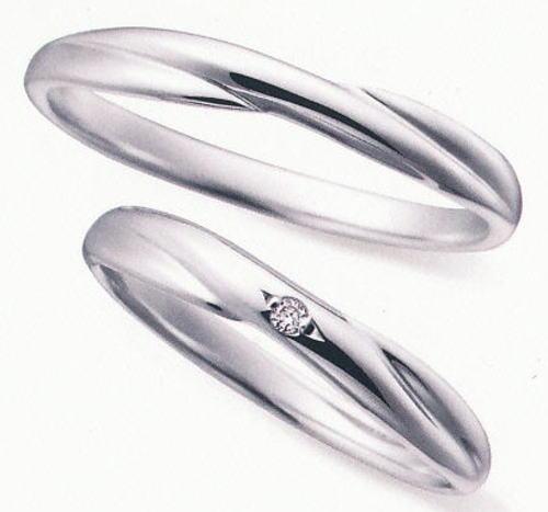 ★お買得情報があります!!★ NOCUR  ノクル CN-053 & CN-054 2本セット定価 マリッジリング 結婚指輪 ペアリング ★刻印、ケース、送料無料★