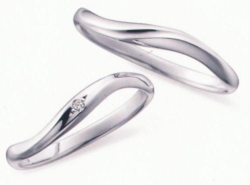 ★お買得情報があります!!★ NOCUR  ノクル CN-055 & CN-056 2本セット定価 マリッジリング 結婚指輪 ペアリング ★刻印、ケース、送料無料★