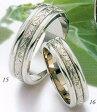 ★Tresoro【トレソロ】(15)11F72&(16)11D72(2本セット定価)マリッジリング・結婚指輪・ペアリング