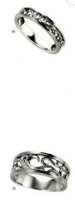 ★【卸直営店のお得な特別割引価格★Angerosa(アンジェローザ)(19)AR-019(L)&(21)AR-021(M)-2本セット, Pt900 マリッジリング、結婚指輪、ペアリング ★お買い得価格の卸直営店 刻印、ケース、送料無料, 消費税込★