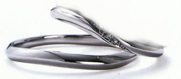 プチロワイヤル WPR-010W-WPR-010M  結婚指輪 マリッジリング 2本セット ★刻印、ケース、送料無料。 消費税込★