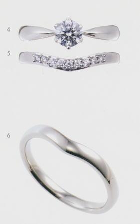 0.5ct.ダイヤモンド婚約指輪(エンゲージリング)/結婚指輪(マリッジリング)3本セットNo.L-3 SET【当店のオリジナル製品】