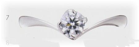 0.4ct.ダイヤモンド婚約指輪(エンゲージリング)No.L-21【当店のオリジナル製品】