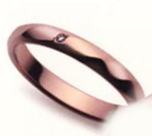 ★【お得な卸直営店価格はお問合せ下さい】★ Sarasa サラサ 更紗 SR-203 ダイヤ  K18PG ピンクゴールド マリッジリング 結婚指輪 ペアリング (1本)