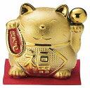 雅峰 金運招き猫 小 MR-216 置物